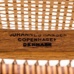 Hans Wegner the chair armchair in teak at Studio Schalling