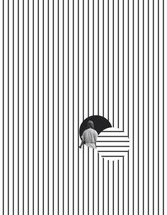 Tyler Spangler (California, USA) / Graphic / Design / Pattern / Composition / Minimalist / Black / White / Editorial / Fashion / Lines / Line Art / Movement / Contrast line Design Graphique, Art Graphique, Graphisches Design, Layout Design, Design Ideas, Creative Design, Logo Design, Interior Design, Tyler Spangler