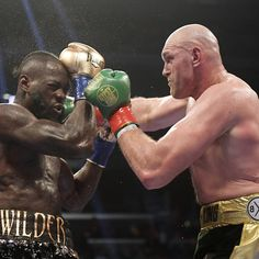 WBC heavyweight champion Deontay Wilder and former titleholder Tyson Fury will meet again in renewing their rivalry after their first bout ended in a controversial split-decision draw. Boxing Boxing, Boxing News, Bronze Bomber, Frank Warren, Gennady Golovkin, Deontay Wilder, Heavyweight Boxing, Boxing History, Tyson Fury