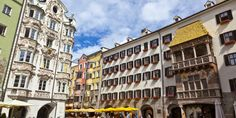 Innsbruck, in the Tyrol region of Austria has a spectacular location, hemmed in by the Austrian Alps, with a medieval old town and a glacial blue-green r...