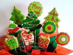 Arreglo de Galletas de Arboles de Navidad-Edición 2011 Lmitada                                                                                                                                                      Más