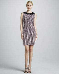 neal sleeveless print dress by kate spade new york at Neiman Marcus.