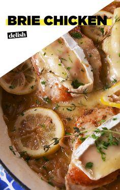 Skillet Brie Chicken