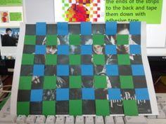 미술+영어 통합 수업) paper weaving 활동 : 네이버 블로그