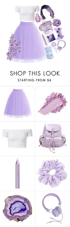 """YOU TOUCHED ME AND SUDDENLY I WAS A LILAC SKY"" by malikah0202 ❤ liked on Polyvore featuring Chicnova Fashion, Polaroid, Isadora, Urbanears and Laura Cole"