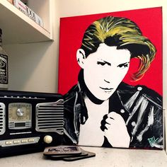 Custom Pop Art Portrait Painting by ThatsHighlyOffensive on Etsy https://www.etsy.com/listing/229495958/custom-pop-art-portrait-painting