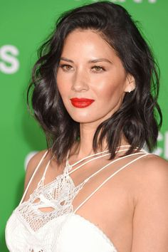 50 shades of red to inspire you this Valentine's Day: Olivia Munn