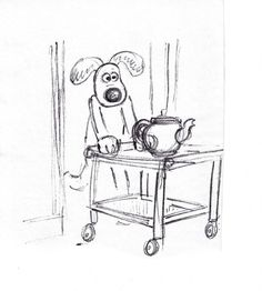 Living Lines Library: Wallace & Gromit in The Curse of the Were-Rabbit (2005) - Concept Art