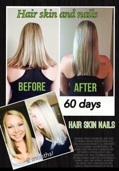 #longer #stronger #hair thanks to #HairSkinNails #ItWorks #ItWorksCanada