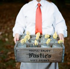 postie's crate filled with signature cocktails|calder clark designs|a bryan photo| runnymede plantation