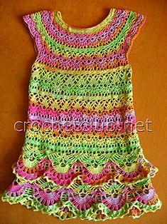 vestido de malha brilhante para o bebê 2
