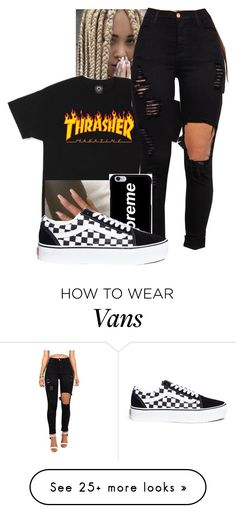 """Contest"" by dogs109 on Polyvore featuring Ultimate and Vans"