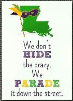 Louisiana humor