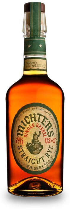 US*1 Straight Rye — Michter's Whiskeys