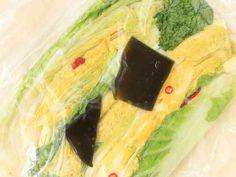 漬物桶不要!少量から昔ながらの白菜づけの画像