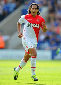 Radamel Falcao of AS Monaco   Colombia in 2013. Football Icon 2ba7c5e56