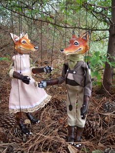Fox or other Marionettes made to order to your by ShuswapStrings, $90.00