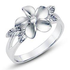 925 Sterting Silver Plumeria Cubic Zirconia CZ w/ Maile Leaf Hawaiian Flower Band Ring Sz 4 Metal Factory http://www.amazon.com/dp/B00L0N0HV8/ref=cm_sw_r_pi_dp_-MC1tb0Y31P07ZN8