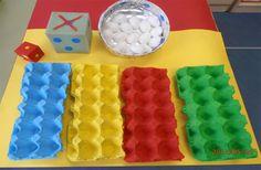 Jugamos con …cartones de huevos. - Aprendiendo matemáticas ... Bon, je révise…