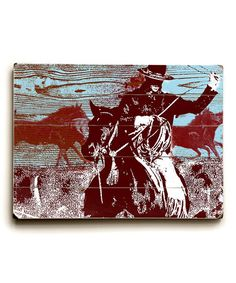 Take a look at this Rodeo Time Plaque by ArteHouse on #zulily today!