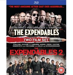 BARGAIN Expendables / The Expendables 2 [DVD] [Blu-ray] JUST £6 At Amazon - Gratisfaction UK Bargains #expendables #dvd