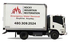 Rocky Mountain Restoration - Truck