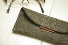 Custom Felt Glasses Case by Westerman Bags | Hatch.co