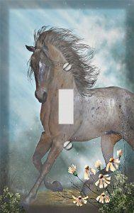 Garden Fantasy Horse Decorative Switchplate Cover - Amazon.com