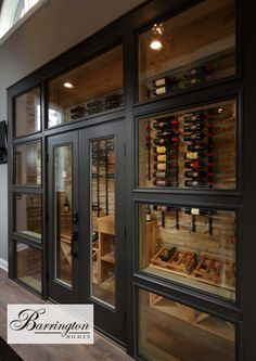 Our pine cellar cubes paired with VintageView wine racks