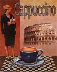 Cappuccino in Rome...  could it be more perfect?