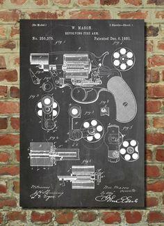Patents Prints nos muestra una serie de posters con las imágenes de algunas patentes que de alguna manera lo cambiaron todo.