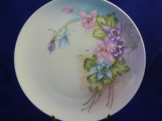 Vintage Bavarian Hand Painted and Signed Plate 1963 by AlwaysPlanBVintage on Etsy
