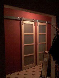 18 best porte coulissante images on pinterest sliding door sliding doors and sliding barn doors. Black Bedroom Furniture Sets. Home Design Ideas