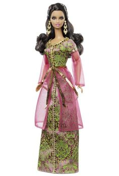 Barbie 2013 DOLLS of the World MOROCCO Pink Label Collection New In Box