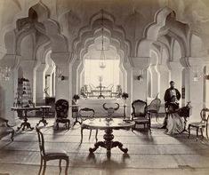 India circa 1866