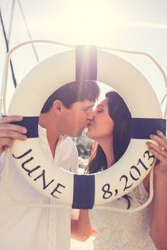 Nautical Engagement Session to go with a destination wedding