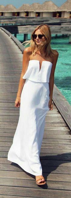 64117dcc8b summer white strapless maxi on boardwalk