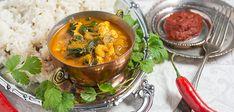 Palak Paneer, Thai Red Curry, Ethnic Recipes, Food, Meals, Yemek, Eten