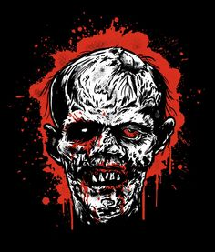 Zombie Shirt by Angelspit Remembers Classic B-Horror Movie Poster Art