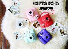 entertainment gear gift ideas your first christmas with fujifilm instax mini
