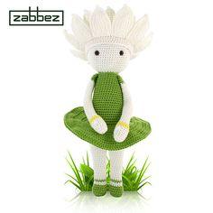 Crochet pattern amigurumi doll Water Lily Winnie PDF от Zabbez