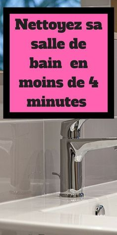 Guide: Clean your bathroom in less than 4 minutes - Bathroom 01 House Cleaning Tips, Green Cleaning, Cleaning Hacks, Household Chores, Paint Colors For Living Room, Natural Cleaning Products, Car Stickers, Home Staging, Interior Design Living Room