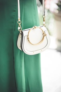 Reward Style Conference 2017, Chloe nile bracelet bag in white