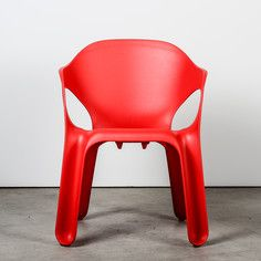 Easy Chair Red, $118, now featured on Fab.