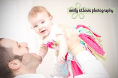 Father Daughter Baby Photo