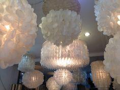 capiz shell lighting