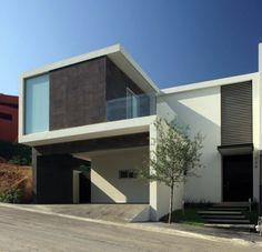fachadas de casas con ventanas de aluminio - Buscar con Google