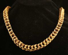 Roman Gold Necklace , ca 1st -3rd century A.D.- -Think of the gold craze in the 1980's and early '90's.