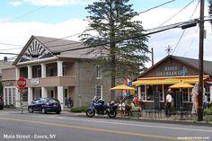 Day Trip to Historic Essex New York on Lake Champlain - Ice cream anyone? Main Street, Street View, Rv Campgrounds, Lake Champlain, Day Trip, Ice Cream, Restaurant, York, No Churn Ice Cream