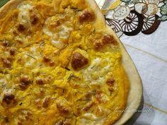 Pizza con zucca e provola   L'angolo cottura di Roby